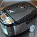 初めてのふるさと納税で3合炊き炊飯器をいただきました!